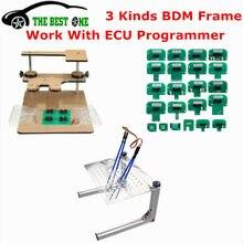 O metal da melhor qualidade conduziu o aço stalinless do quadro de bdm com 4 canetas da ponta de prova 22 pces adaptadores de bdm para a ferramenta de ajustamento da microplaqueta de ktag/kess/fgtech ecu