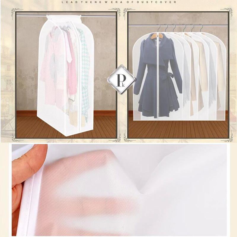 3ea5c63e648b XL Widen Thicker Garment Suit Coat Dust Cover Protector Wardrobe Storage  Bag Garment Bag Vacuum Bags Clothing suit Storage Bags -in Storage Bags  from Home ...