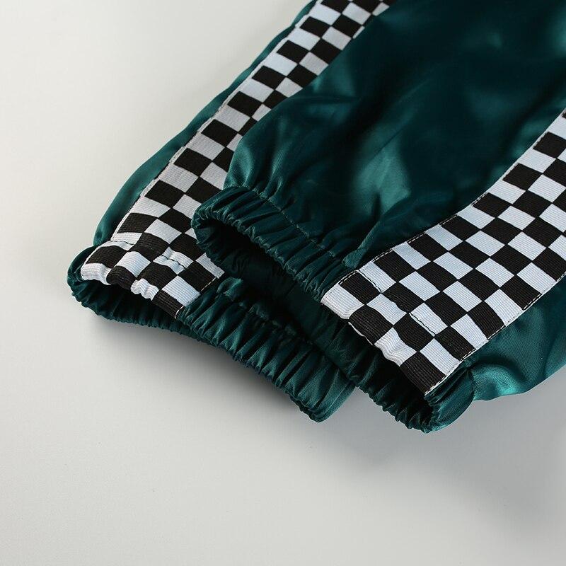green bib overall