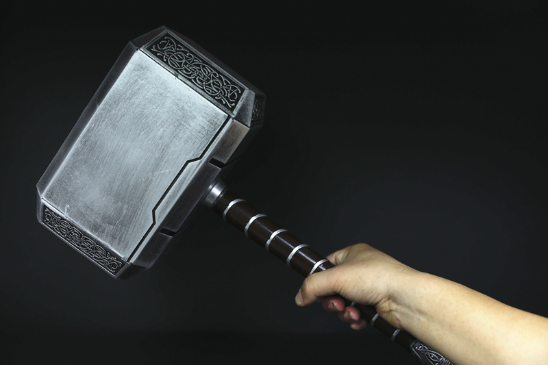 Infinitely 1:1 Stormbreaker Thor's Hammer Toys Captain ...