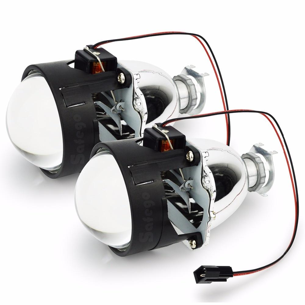 Safego 2,5 Zoll WST HID Bi Xenon Projektorobjektiv Kit H1 xenon ...