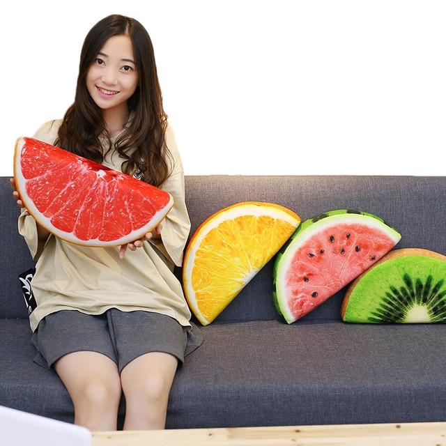 Fruits Stuffed Plush Pillows 1