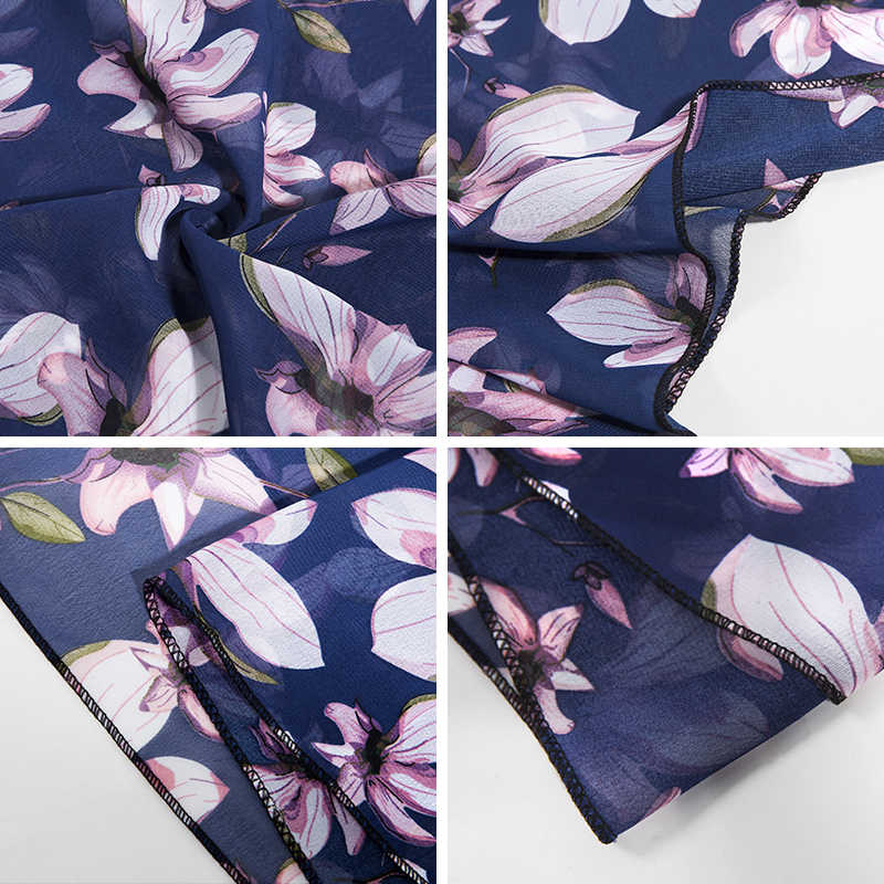 Nueva llegada de 2019 bufandas largas finas para mujer chal de gasa suave bufanda estampada para mujer moda femenina 150*50 de alta calidad de