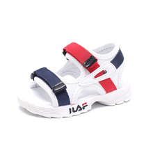 46c29757f4447 Bébé confortable sandales 2018 été nouveau garçon filles plage chaussures  enfants sandales occasionnels enfants mode sport