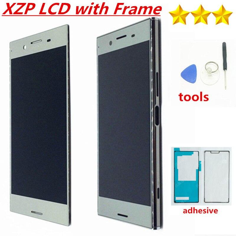 ЖК-экран с дигитайзером для SONY Xperia XZ, сенсорный экран 5,5 дюйма, G8142, 100% тестирование, оригинал, 3840*2160