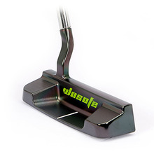 2019 new T2 black festoon golf club putter men right hended  steel shaft free shipping