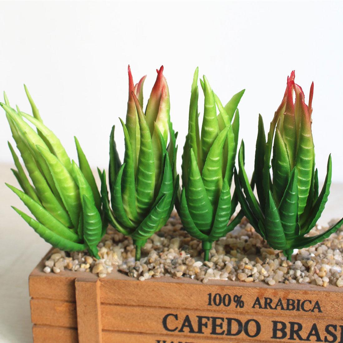 Hot Sale Artificial succulents Plants Aloe Zebrina Plants Artificial ...