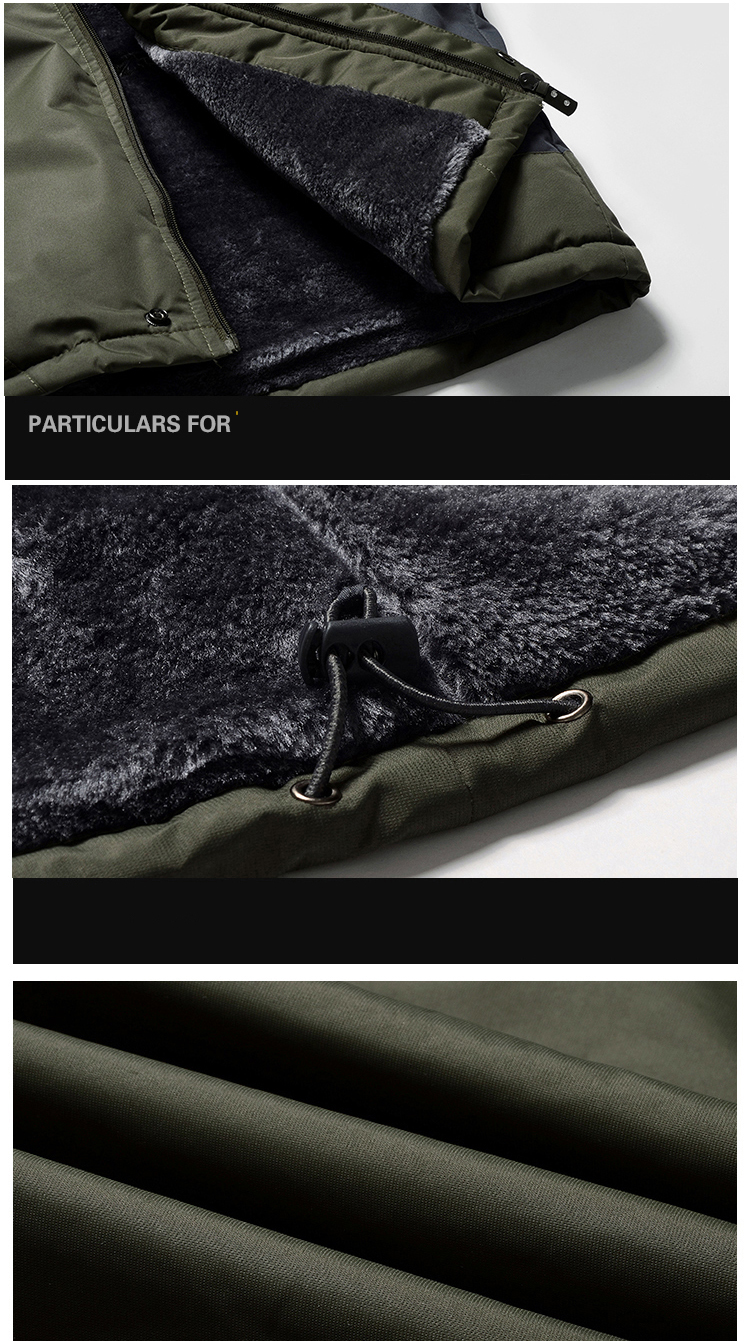 Winter Fleece Hiking Jackets Coat (16)