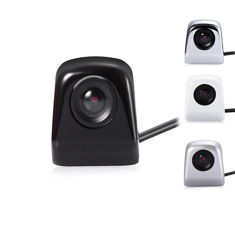 Universal IP67 Car Rear View Camera 120 - 140 Degree Angle 12V Metal 14mm Lens RCA Reverse Parking Camera