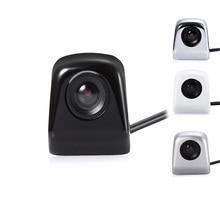 Универсальный IP67 заднего вида Камера 120-140 градусов 12 В из металла 14 мм объектив RCA Обратный Парковка камера