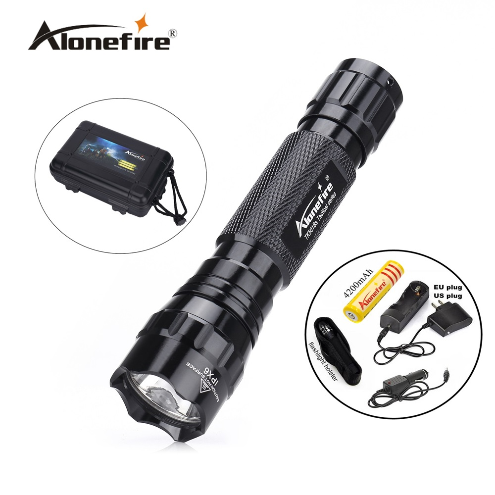 501B 1set Mini Flashlight Cree xml t6 LED Tactical Flashlight flash light torch outdoor adventure camping+18650 battery+charger led cree xml t6 flashlight 6000lumens torch 5modes tactical flashlight zoomable flash light 18650 battery charger