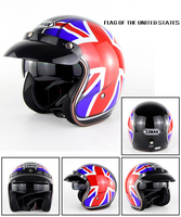 Open Face Motorcycle Helmet Motor Bike Street Racing Helmets Motociclismo Capacetes Cascos