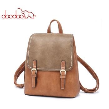 Teen Backpack female doughnut Women Pu Leather Travel Multifunctional School Bags 2019 Large Back Pack Shoulder Bag girl bagpack