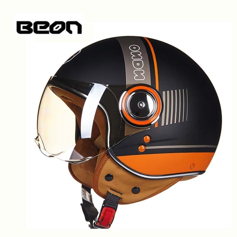 ECE Classic-vlag BEON B-110B motorcross-halfvlak Helm, motorfiets - Motoraccessoires en onderdelen - Foto 3