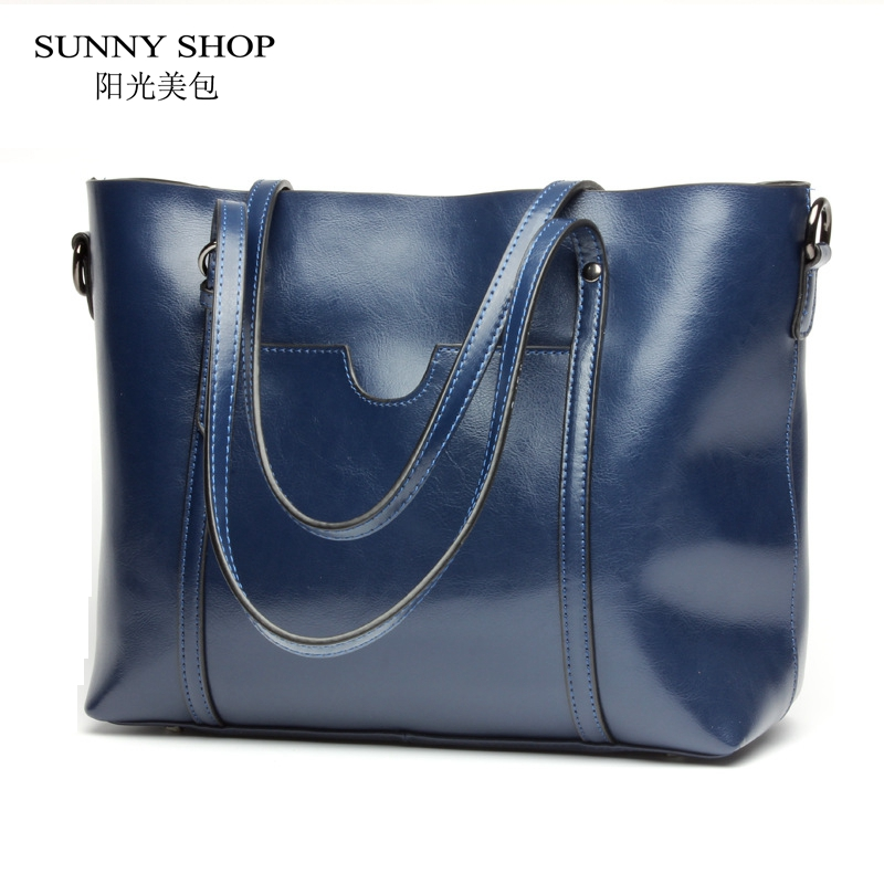 SUNNY SHOP Luxury Genuine Leather Women Messenger Bags Fashion Luxury Shoulder Bag Women Bags Designer Handbag With Purse luxury genuine leather bag fashion brand designer women handbag cowhide leather shoulder composite bag casual totes