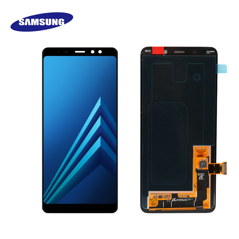 New Original Display for SAMSUNG Galaxy A8 Plus 2018 A8 2018 LCD Super AMOLED LCD A730