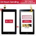 ORIGINAL TESTED 7.0 inch NEW Touchscreen For Acer Iconia One 7 B1-730 B1-730HD Touch Screen Digitizer Parts Black Free Adhesive