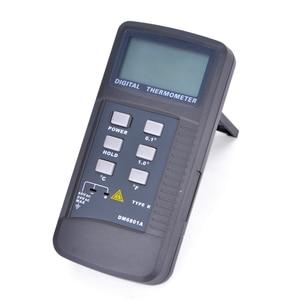 Image 2 - High Precision Lcd Display Digital Thermometer Pyrometer Temperature Meter with K Type Probe Measuring Range 50 1300 Degree