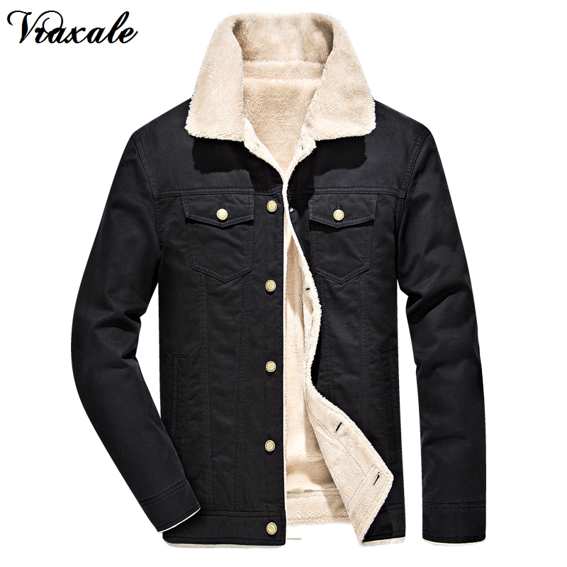 Vraxale Male Turn-down Collar Handsome Jacket Male Winter New Plus Velvet Thickening Cotton-padded Jacket Casual Outerwear Male