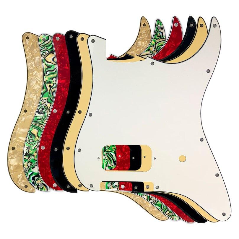 pleroo guitar parts for usa mexico fd stratocaster st blank pickguard 11 hole us spec strat. Black Bedroom Furniture Sets. Home Design Ideas