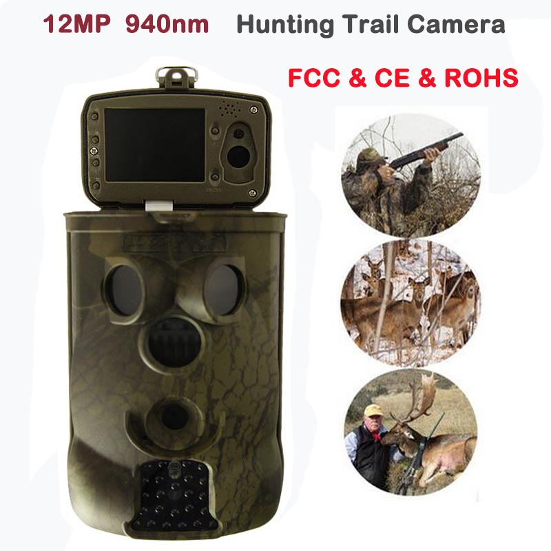 New 12MP Infrared Hunting font b Camera b font Night Vision font b Trail b font