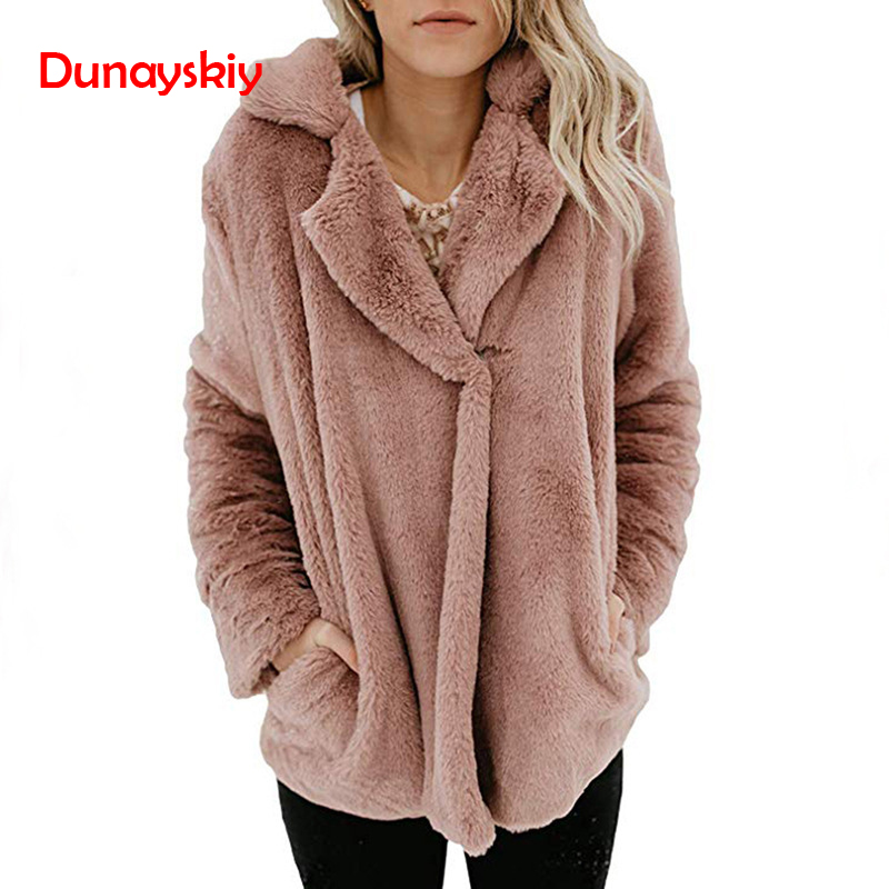 Fleece   Jacket   Coat Women Female Warm Cotton Cardigan Veste Femme Long   Basic     Jacket   Autumn Pockets Fashion Coats