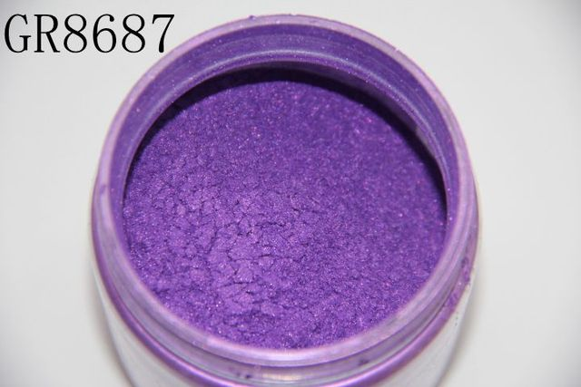 Natural Cosmetic Mica Pigment Powders for Lipstick, Makeup, Eyeshadow and Soap