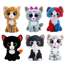 Ty Beanie Boos Stuffed & Plush Animals Black Cat Doll Toys for Children Gift 6″ 15cm