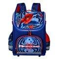 Children Spiderman School Bags 2016 Kids Cartoon Backpack Boy Student Waterproof Orthopedic Schoolbags mochila escolar infantil
