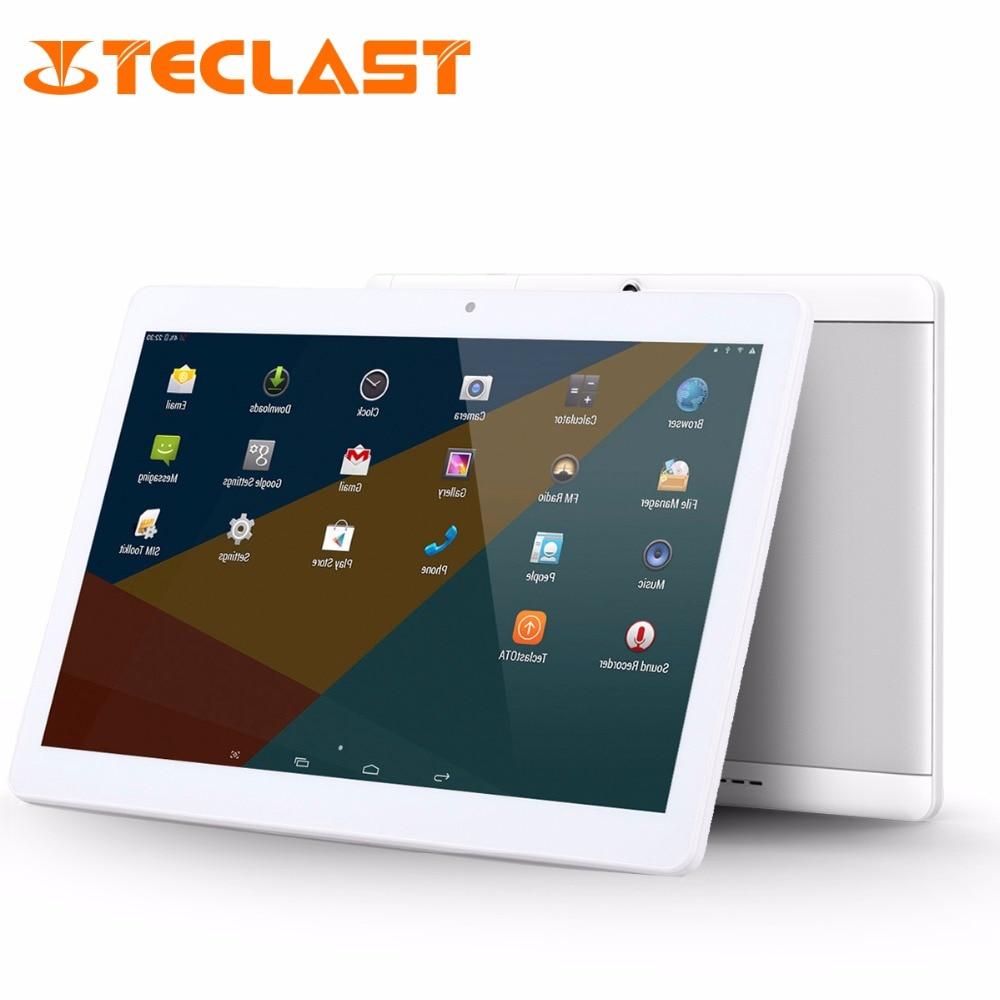 "bilder für Teclast X10 Quad Core 3G Telefon Tablet MT6580 Android 6.0 IPS 1280x800 Bildschirm 1 GB RAM 16 GB ROM 10,1 ""Phablet OTG FM GPS Tablet PC"