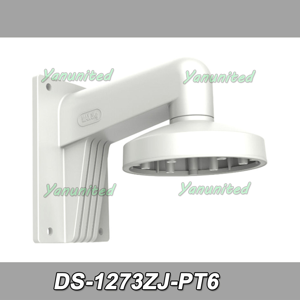 DS 1273ZJ PT6 Wall Bracket Wall Mount Aluminum Alloy Indoor Wall Mount Bracket Stand for Hik Dome Cameras-in CCTV Accessories from Security & Protection    1