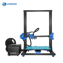 Longer LK1 Large Size Full Aluminium Frame 3D Printer Impresora Drucker Extruder Assembled