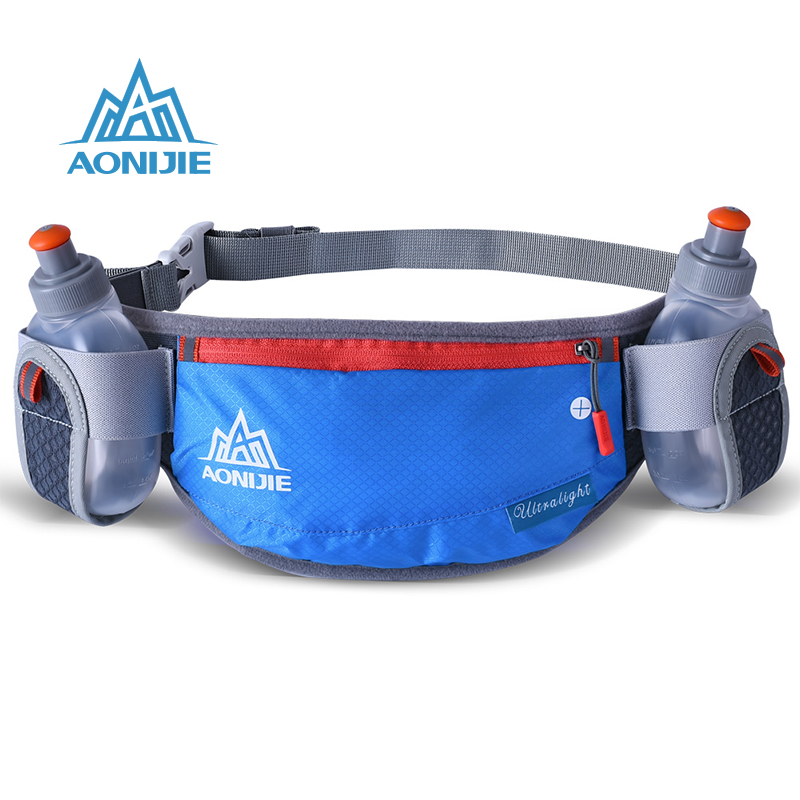 AONIJIE Unisex Running Waist Bag Waterproof Phone Holder Belt Belly Bag Reflective Handy Water Bottle Sports Running Bags