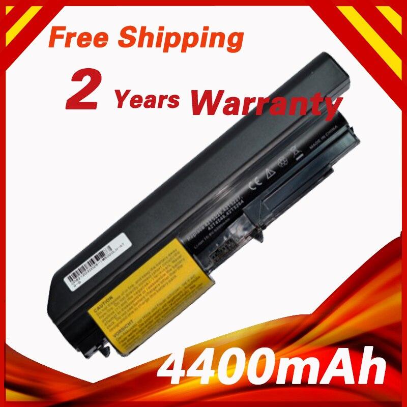 4400mAh Battery For Lenovo Thinkpad R400 R61 T400 T61 R61 R61i T61P T61U (14.1