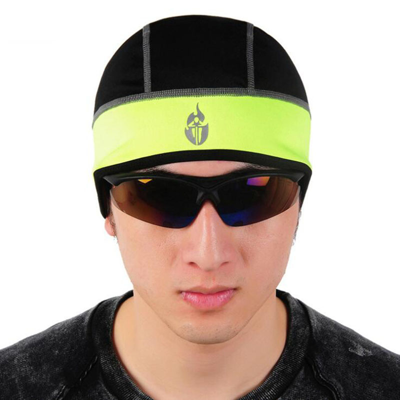 Mens Hat Outdoor Sports Bike Hats Men Winter Sport Cycling Bicycle Cap Ciclismo Snow Warm Caps Bicycle Riding Headband Black