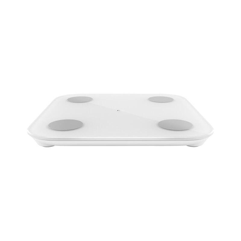 2019 nouveau Xiaomi Smart corps graisse échelle 2 Balance Test corps Date imc santé poids Balance LED affichage Fitness graisse échelle-in Télécommande connectée from Electronique    3