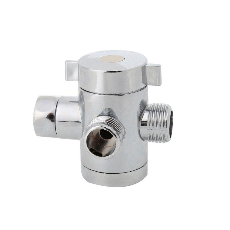 2 Adaptateur for Mettre Le Distributeur Toilettes Bidet Broco Multifonction 3 Way Pomme de Douche Vanne de d/érivation G1