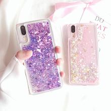 Cases For iPhone XS Max XR X 8 Plus 7 6 6S 5 5S SE Cover Silicone Glitter Liquid Case Meizu M5 Note Meilan 5 6 M6s mblu S6 M6