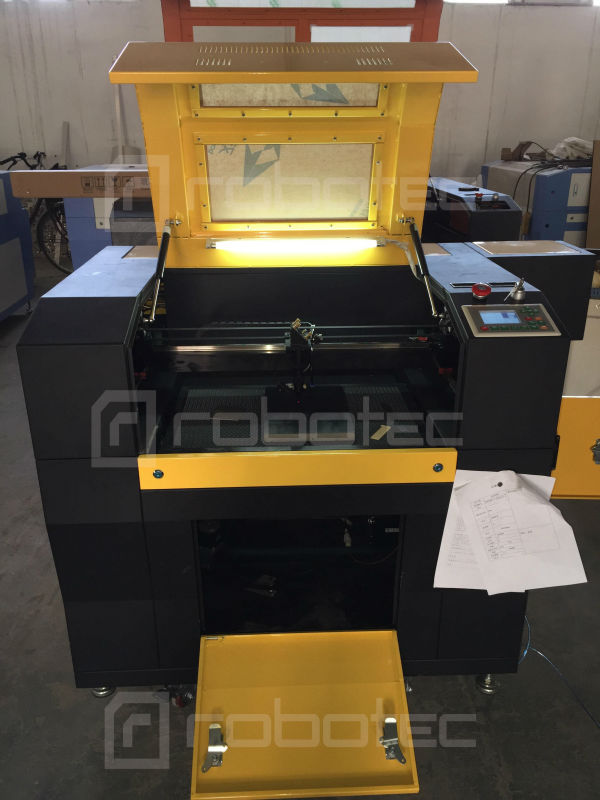 Kit de bureau 6040 6090 mini machine de gravure laser avec table de levage automatique