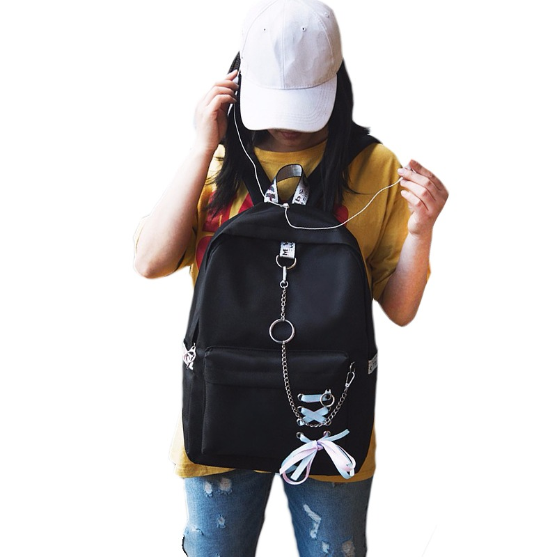 Fashion Backpack Women Leisure Back Pack Japan Ladies Knapsack Casual  Travel Bags for Women 2018 Teenage 9506cd6a74801