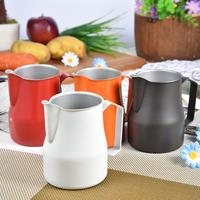 Stainless Steel Milk Frothing Jug Espresso Coffee Pitcher Barista Craft Coffee Latte Milk Bubble Foam Frothing Pitcher Cup Q192