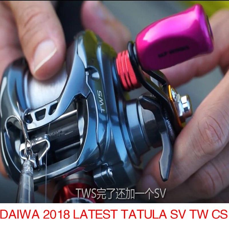 DAIWA 2018 Latest TATULA SV TW CS 103H 103HL Baitcasting reel 6 1BB 200g Max Drag