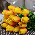 Estame flor decoração de casa flor artificial flores secas tulipa flor simulação VBL47 P29