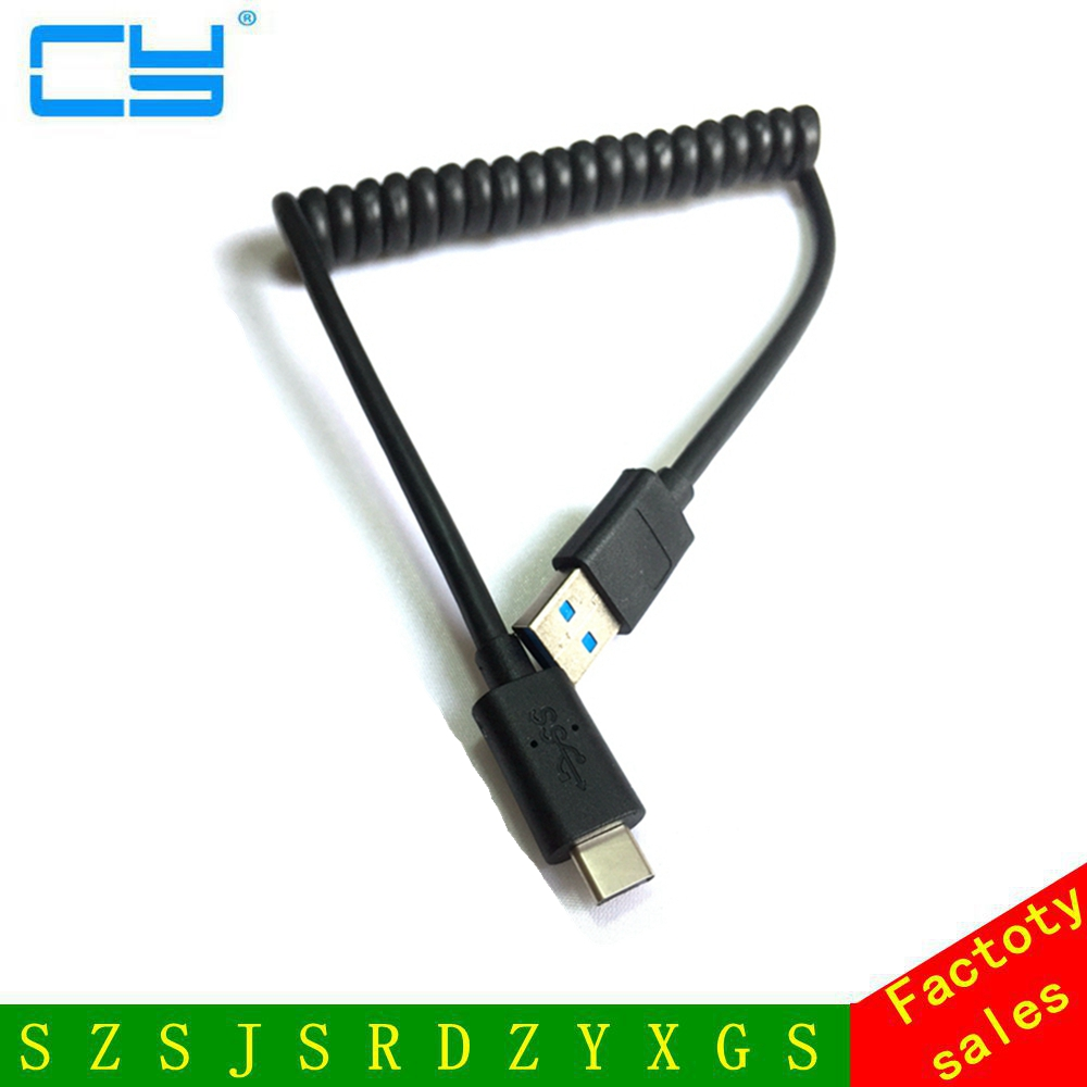 5 Гбит/с В 2A USB 3.0 USB 3.1 USB-C Тип C кабель 0.5 м для Тип-c тип-C устройств Tablet  ...