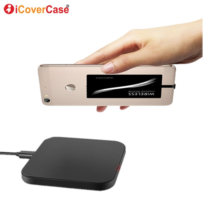 Wireless <font><b>Charger</b></font> For <font><b>Samsung</b></font> Galaxy A8 A8+ Plus A9 Star A6 A6+ 2018 A6s A3 A5 <font><b>A7</b></font> 2017 Charging Pad Qi Receiver Phone Accessory image