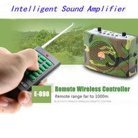 PDDHKK Hunting Decoy Mp3 Bird Sound Loudspeaker Amplifier With Remote Control Portable Bird Trap Animal Singing Device Amplifier