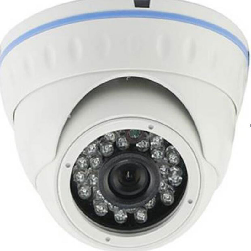 3.6mm Fixed Lens Metal IR Dome Camera Support Mobilephone View/CMS/Onvif/Cloud Service 1/41/31/2.9CMOS Sensor CCTV IP Camera