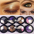 Eyeshadow matte 8 colors matte eyeshadow palette makeup box makeup palette eye shadow with eye pencil Free shipping