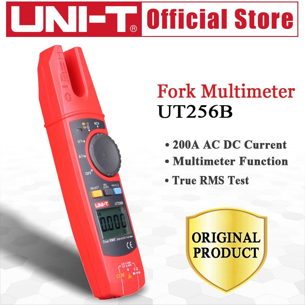 display LCD UT256B Multimetro 200A con pinza amperometrica digitale AC//DC tensione corrente Pinza amperometrica digitale