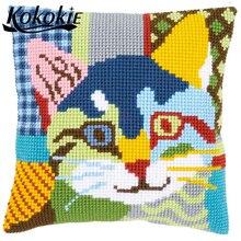 handmade cross stitch pillows for sofa handicraft embroider